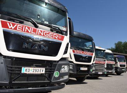 Weinlinger LKWs